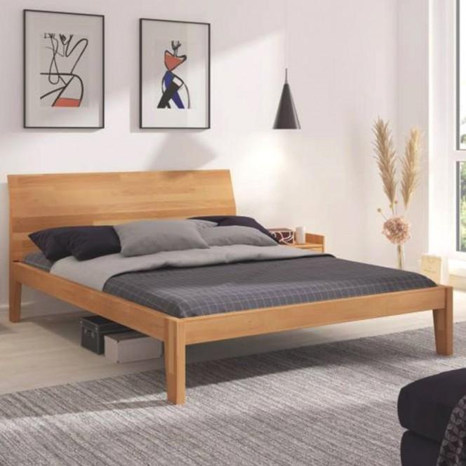 Łóżko drewniane bukowe Skandica AGAVA