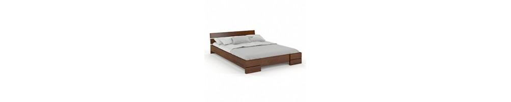Łóżka drewniane niskie, sprawdź jakie niskie łóżko z drewna wybrać   GDM Meble