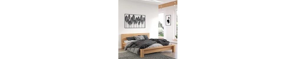 Łóżka drewniane, sprawdź jakie łóżko z drewna wybrać | GDM Meble