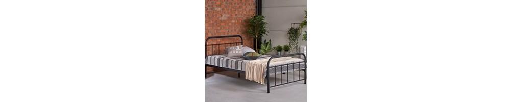 Łóżka metalowe, sprawdź jakie łóżko wybrać | GDM Meble