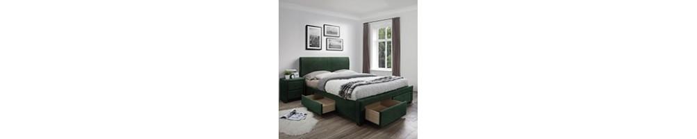 Łóżka tapicerowane, sprawdź jakie łóżko wybrać | GDM Meble